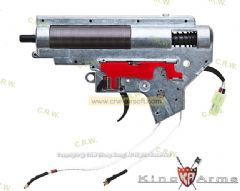 King Arms M150 Ver. II Rear Wiring Complete Gearbox for M16A2 AEG